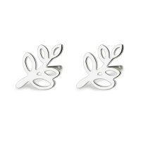 Tree Branch Stud Earring for Women Sterling Silver