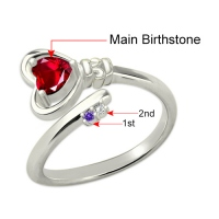 key to heart ring