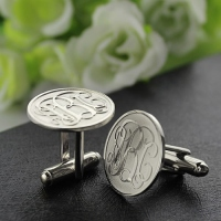 silver cufflinks for men