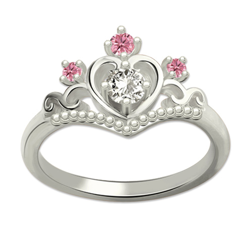 fairytale princess tiara ring my princess ring for