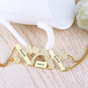 personalized mother's bracelet