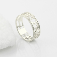 heart name ring