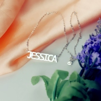 Silver Name Tags Jewelry