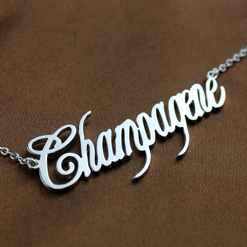 Sterling Silver Name Jewelry