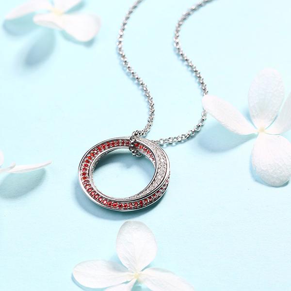 full gemstone pendant