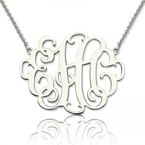 Graduation Stylish Monogram Necklace Gifts
