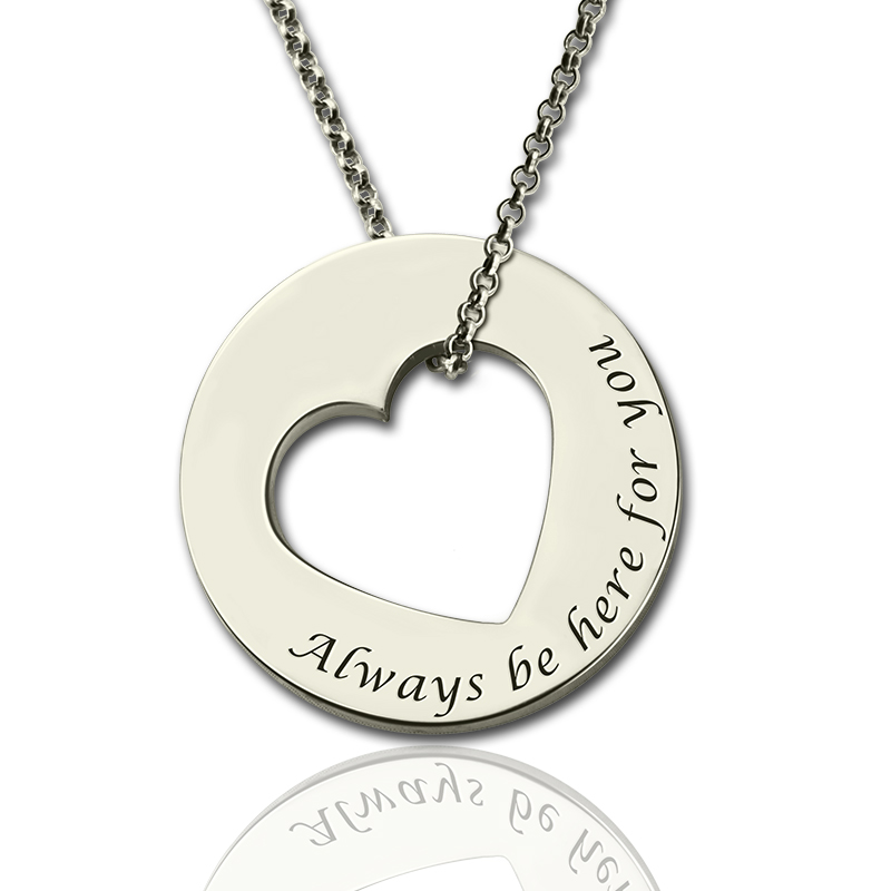 valentines gifts for her promise necklace for her sterling silver
