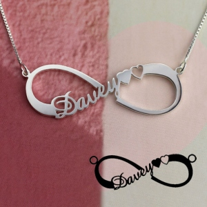 Personalized Single Infinity Name Necklace