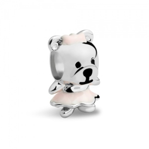 Teddy Bear Charm Sterling Silver 925