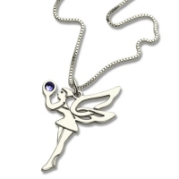 Fairy Birthstone Necklace