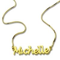 handwritten name necklaces