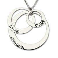 disc necklace for mom