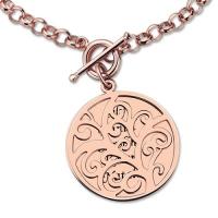 Disc Family Tree Bracelet
