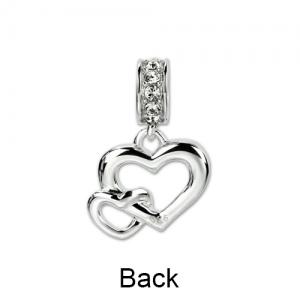 heart in heart charm