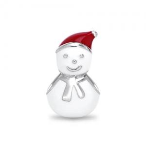 snow man charm