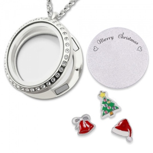 christmas locket