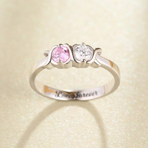 hugs and kisses ring