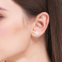 weather symbol ear stud