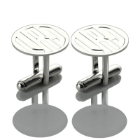 mens monogram cufflinks