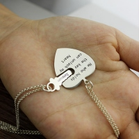 Key to my hear necklace