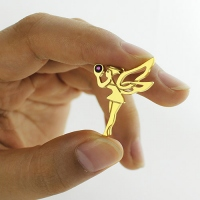 Fairy Birthstone Necklace