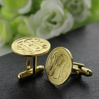 personalized mens cufflinks