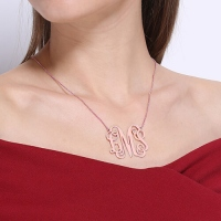 monogram jewelry