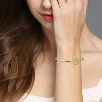 monogram bracelet