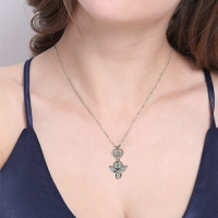 angel necklace charm