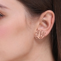 personalized stud earring