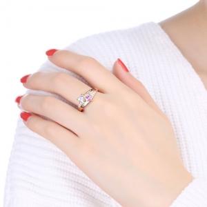 heart birthstone ring