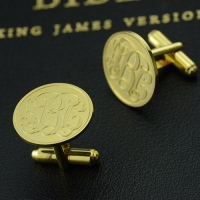 mens engraved cufflinks