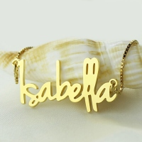 personalized name pendant