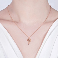 breakable heart necklace