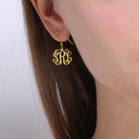 silver monogram jewelry