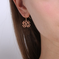 silver monogram products