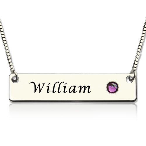 personalized ip nameplate necklace diamond d walmart plate name accents com with