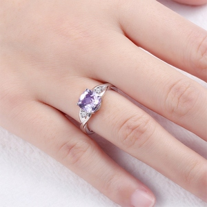 cushion cut birthstone