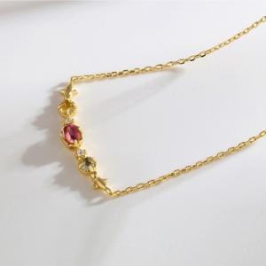 Elegant Gemstone necklace