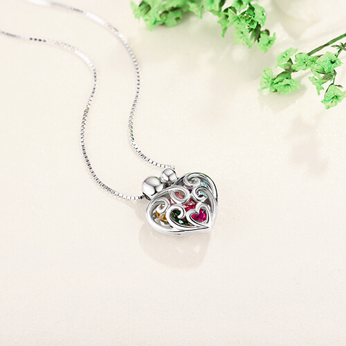Loving Family Small Heart Locket