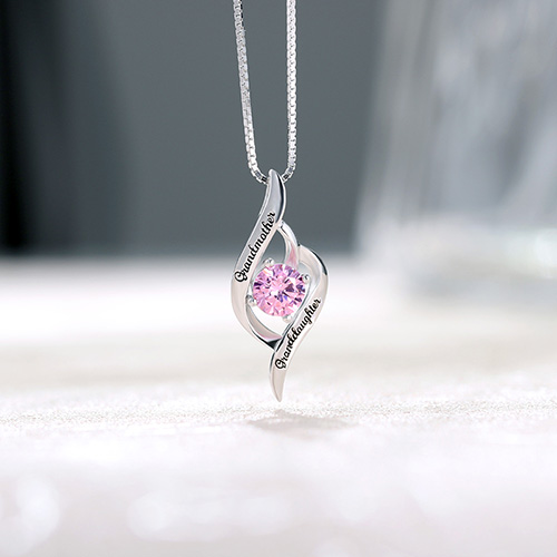 Grandmother Amp Granddaughter Love Necklace Sterling Silver
