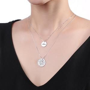 coin pretty necklace