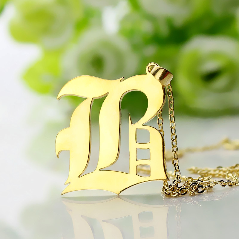 Gifts for him custom mens initial letter charm aloadofball Gallery