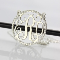 Cut Out Monogram Jewelry