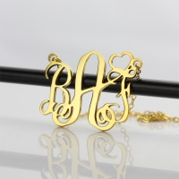Gold Initial Jewelry