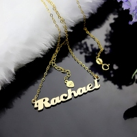 Gold Love Letter Necklace