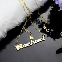 Gold Love Letter Necklace