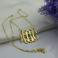 Handmade Initial Necklace