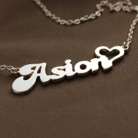 Kids Letter Necklace
