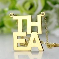 Letter Initial Pendant